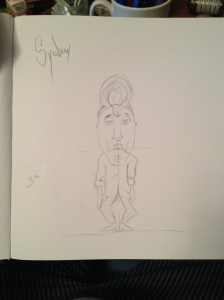 Sydney Armature Sketch
